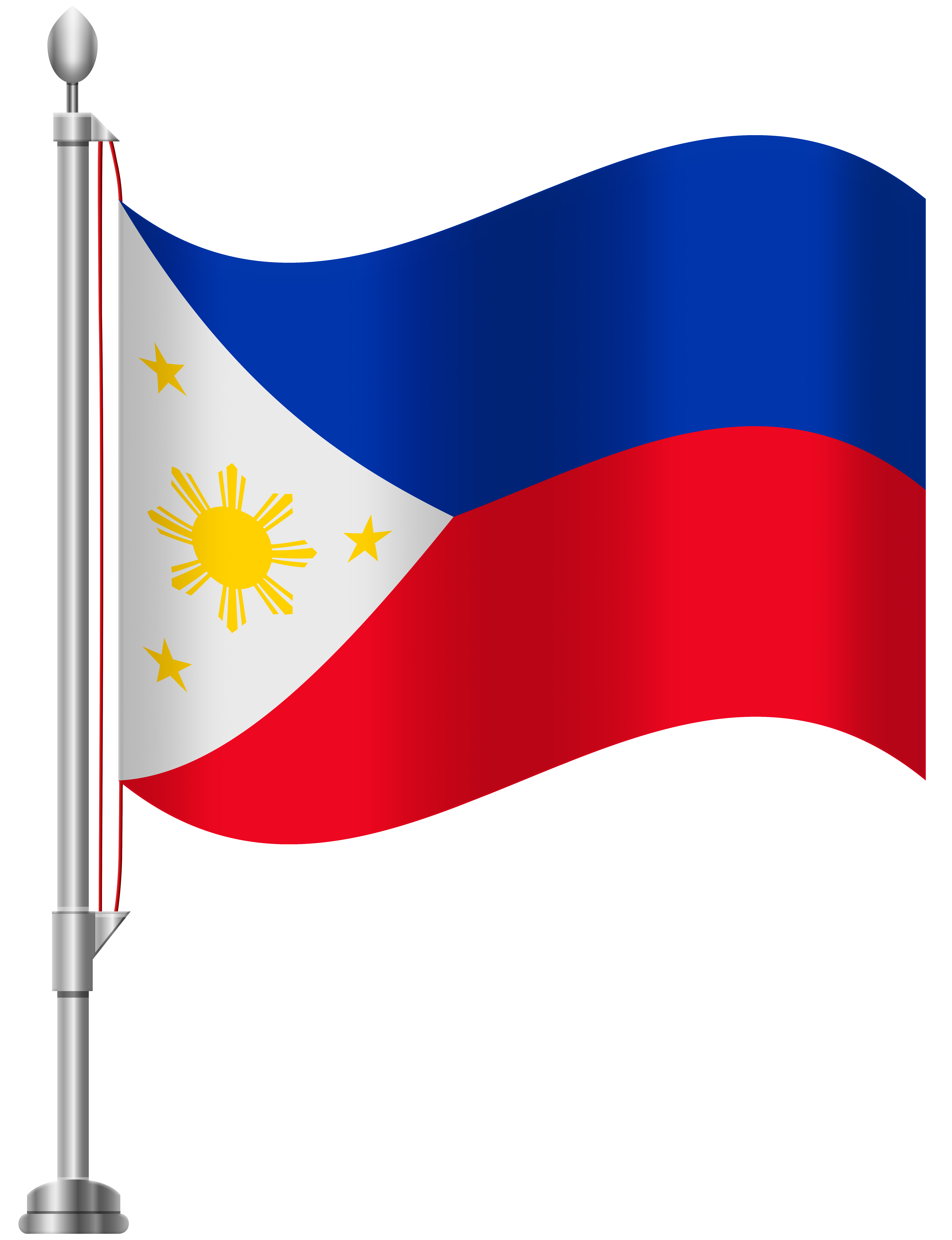 Philippines Flag PNG Clip Art.