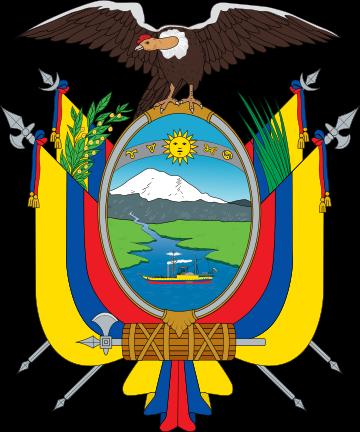 Escudo del Ecuador.