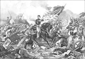 Battle Of Williamsburg 1862 Clip Art Download.