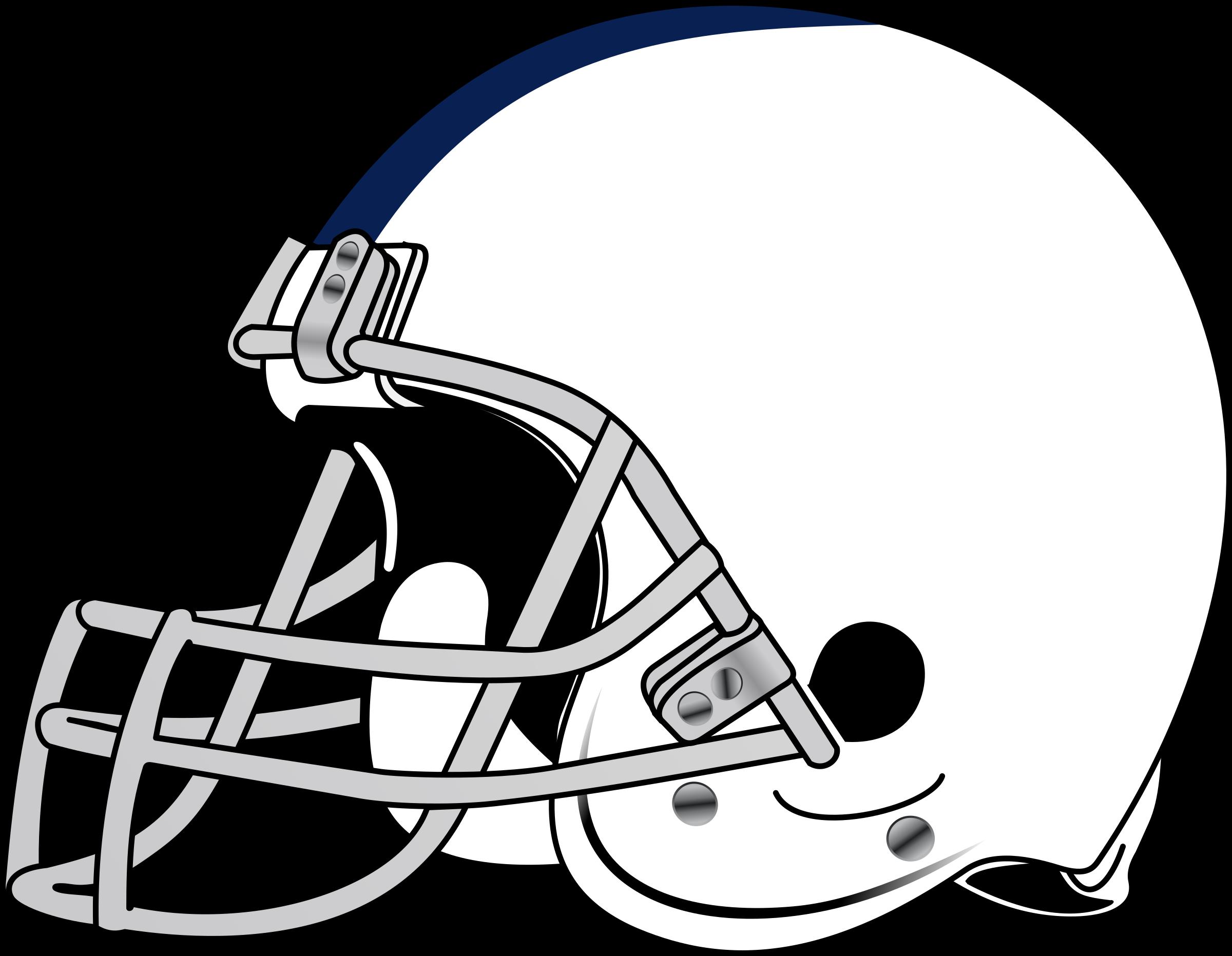 Blank Football Helmet Clip Art.