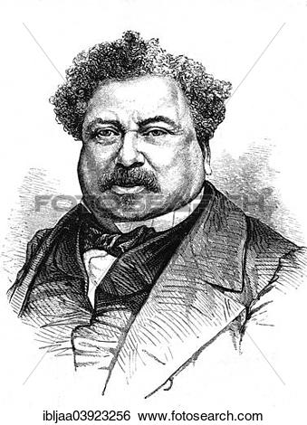 "Stock Images of ""Alexandre Dumas, French writer, historical."