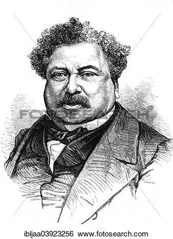 "Stock Images of ""Alexandre Dumas, French writer, historical."