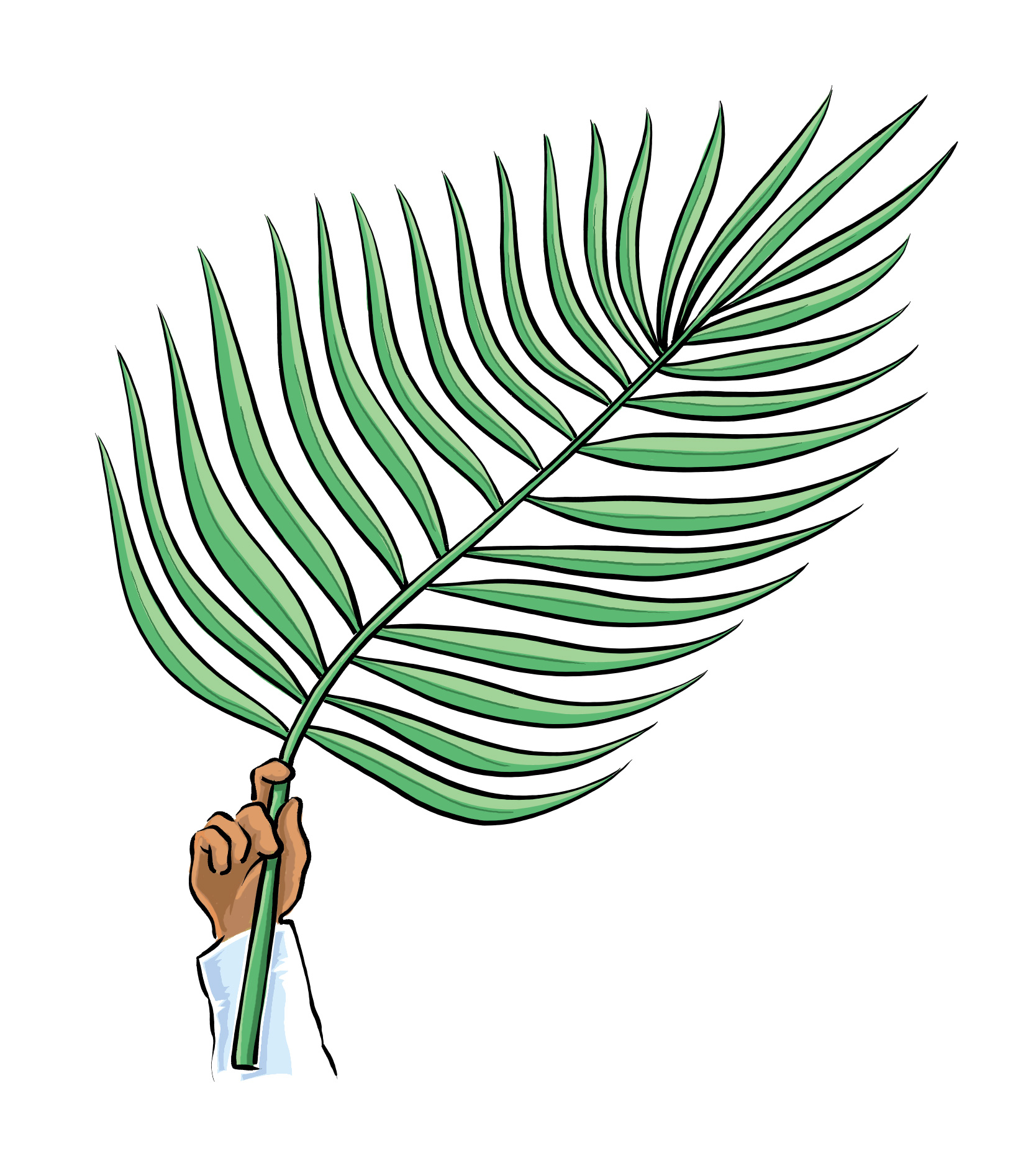 Clipart For Palm Sunday.