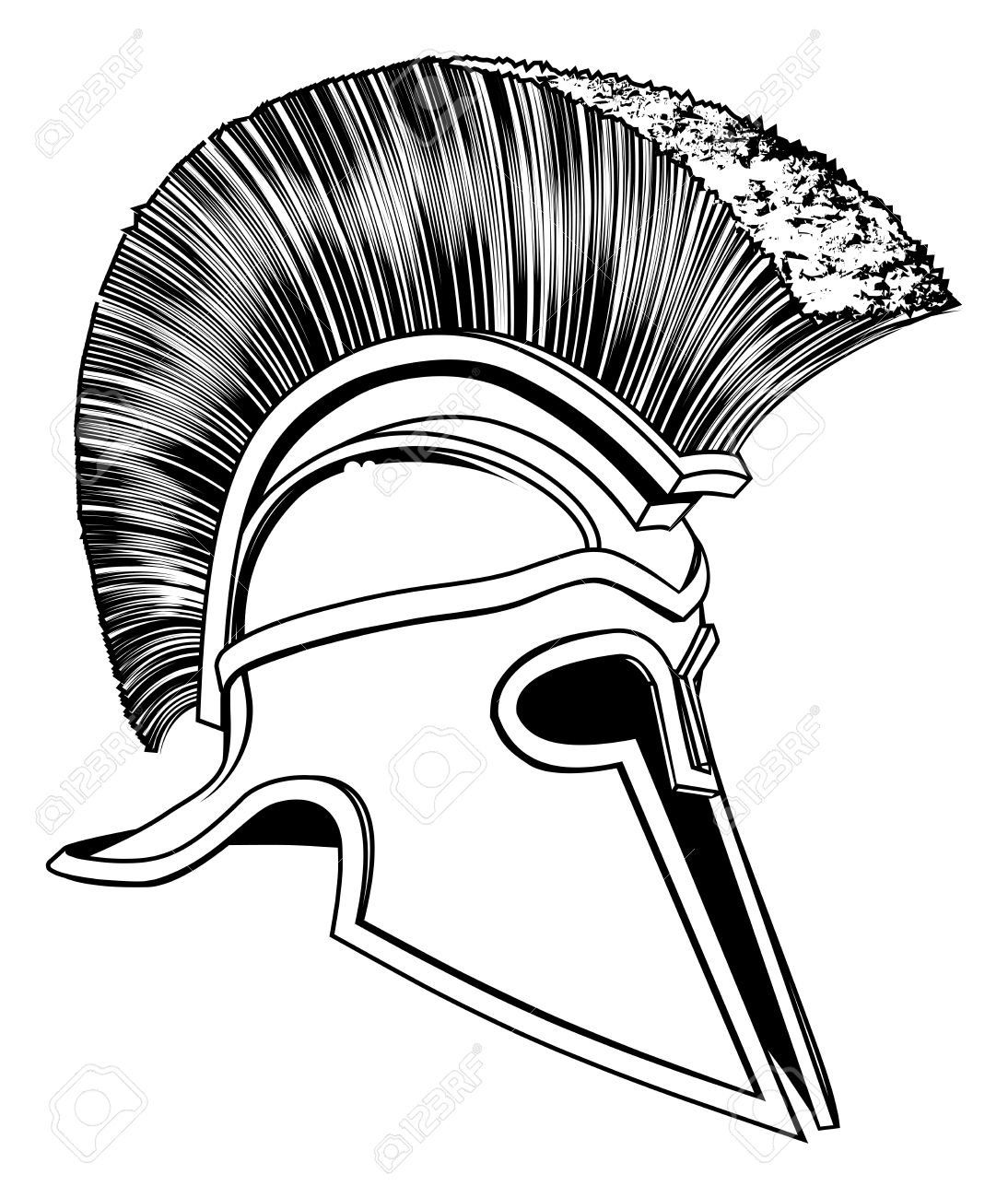 1,870 Spartan Helmet Stock Vector Illustration And Royalty Free.