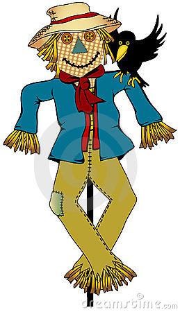 Scarecrow Stock Illustrations.