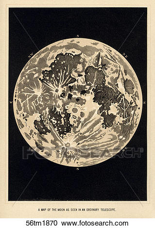 Stock Illustrations of Antique Celestial Illustration.