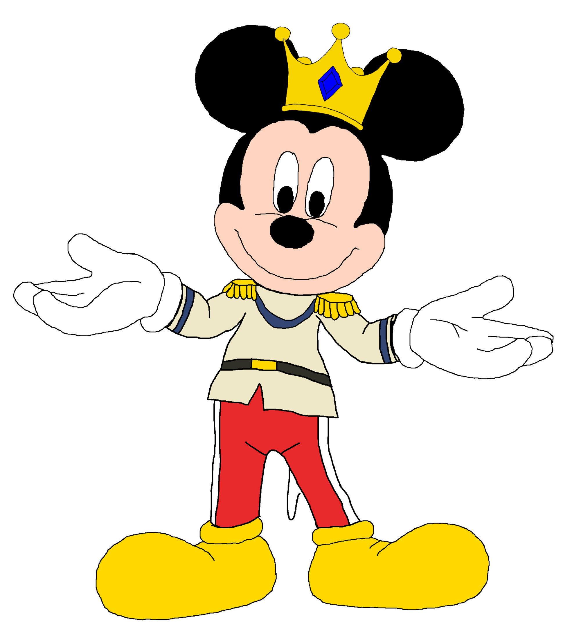 Picture Of Mickey Mouse With Hands 1871   Cartoon Wallpapers.