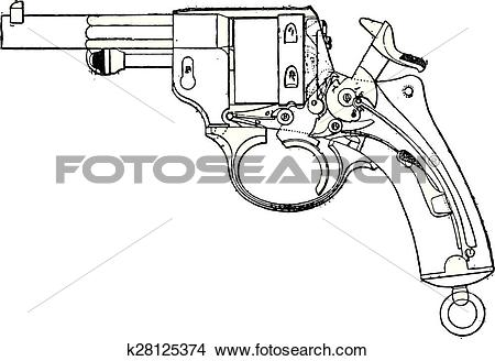 Clipart of Gun.