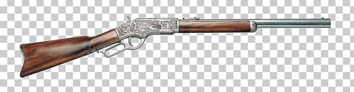 Winchester Rifle Firearm Weapon .44.