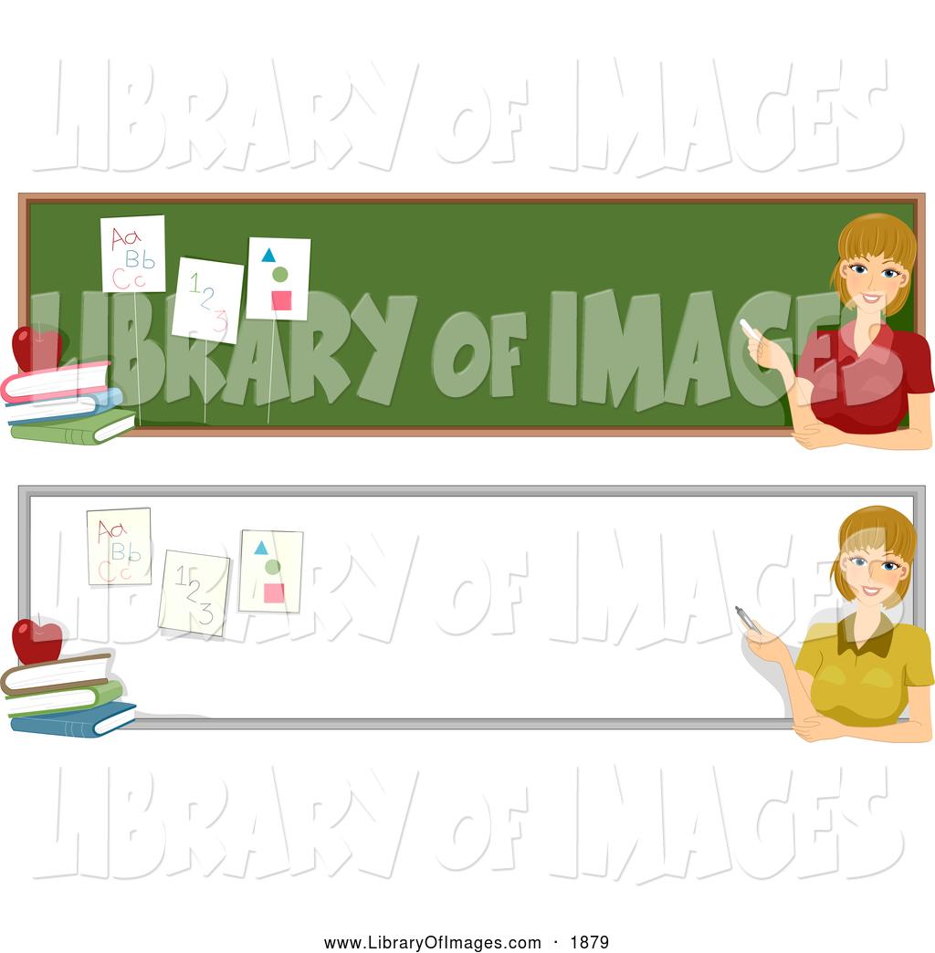 Clip Art of Teacher Website Banners by BNP Design Studio.