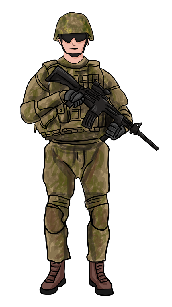 American soldiers clipart clipart images gallery for free.