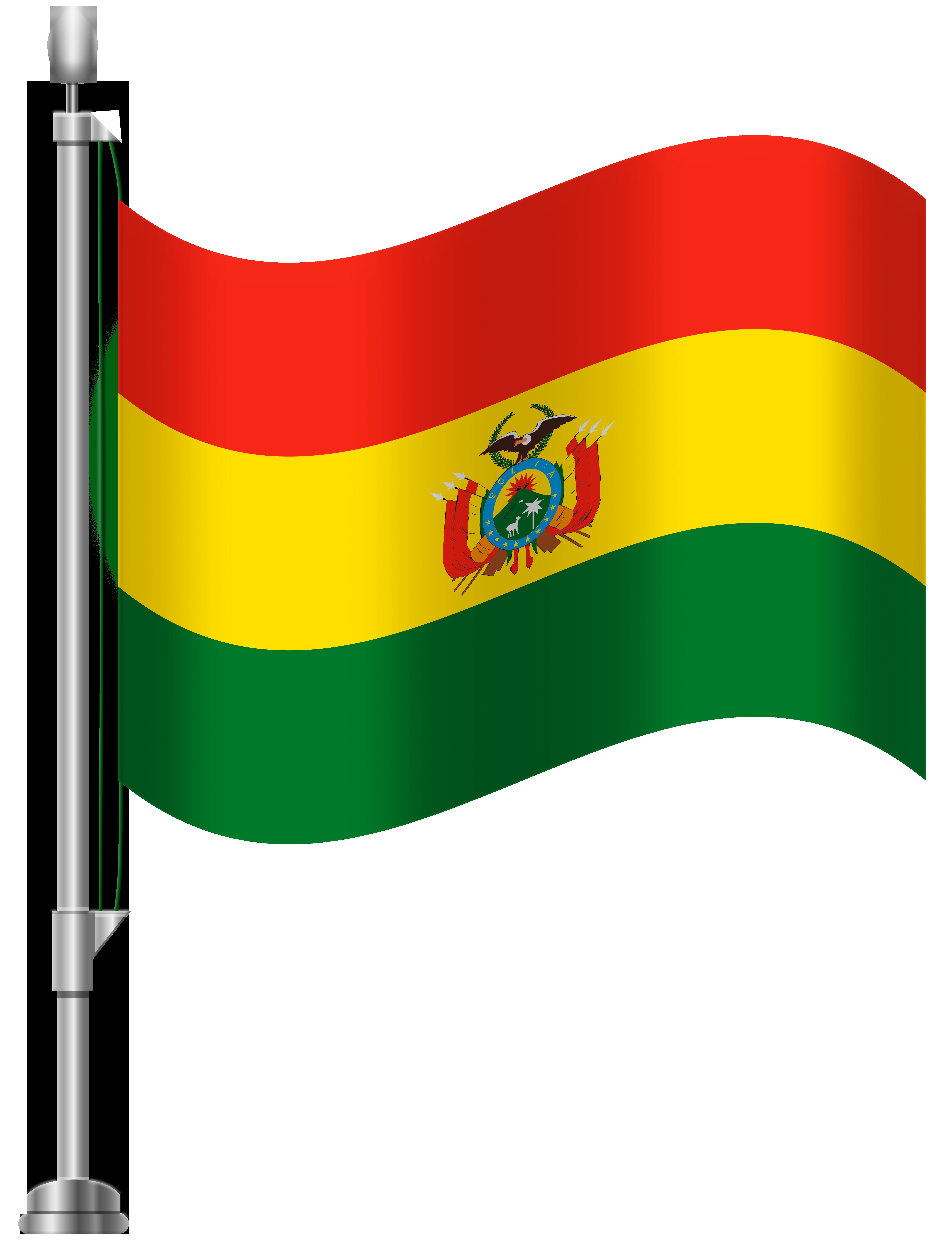 Bolivia Flag PNG Clip Art.