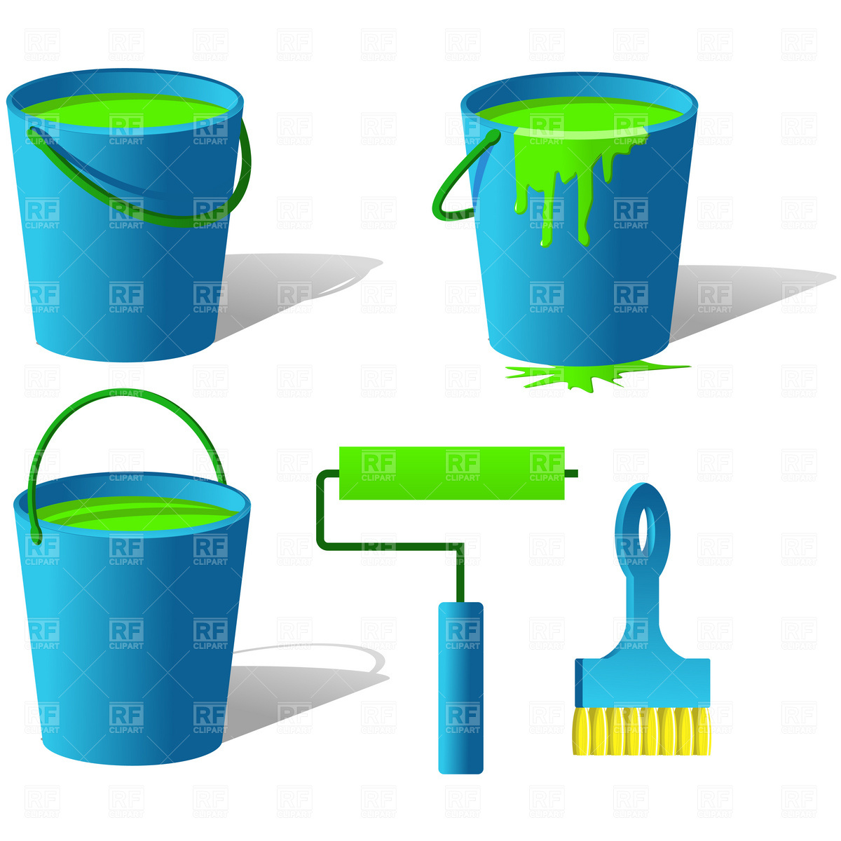 Paint Bucket Clipart.