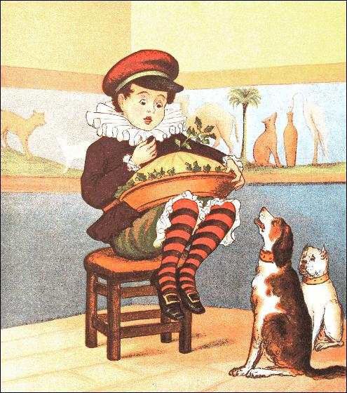 Little Jack Horner WSatterlee 1882.