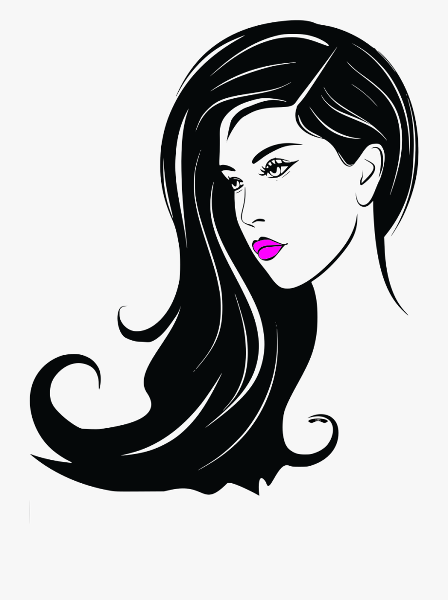 Women Face Clip Art , Png Download.