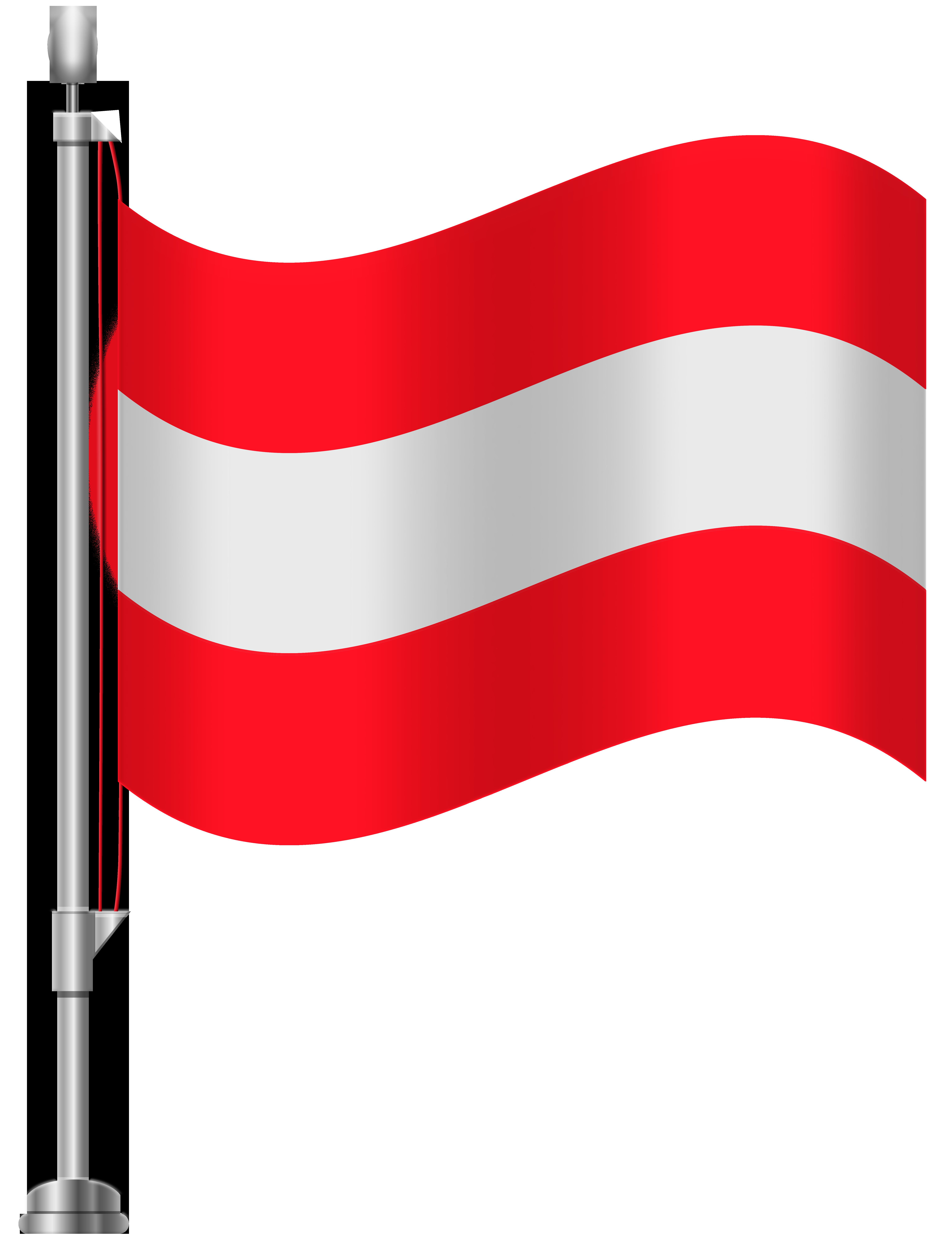 Austria Flag PNG Clip Art.