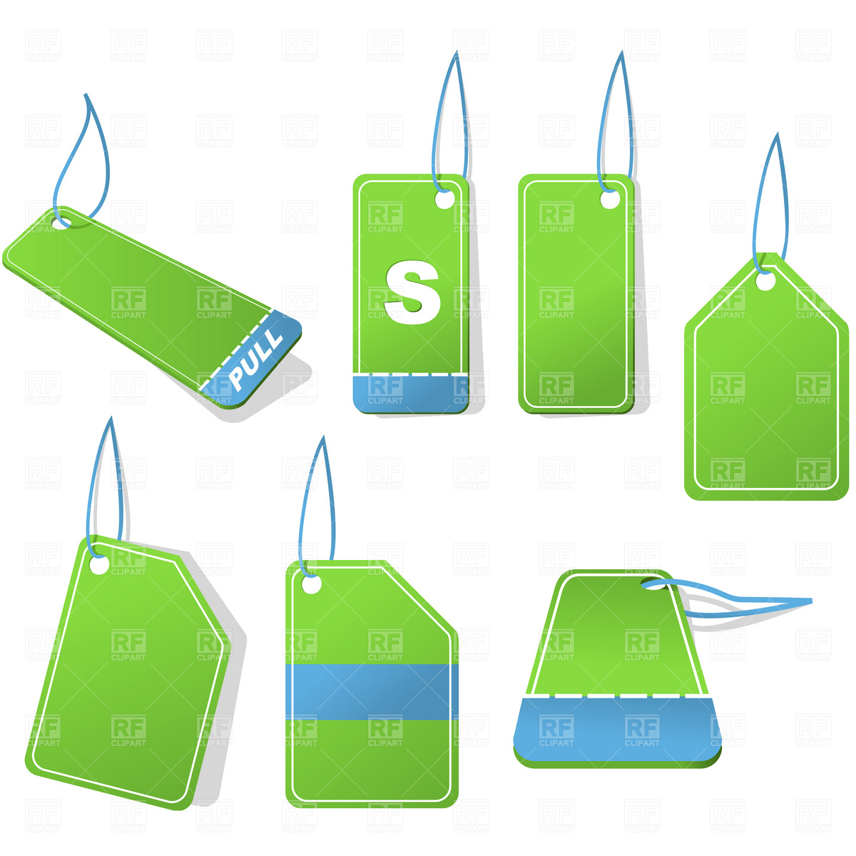 Price tags Vector Image #1897.