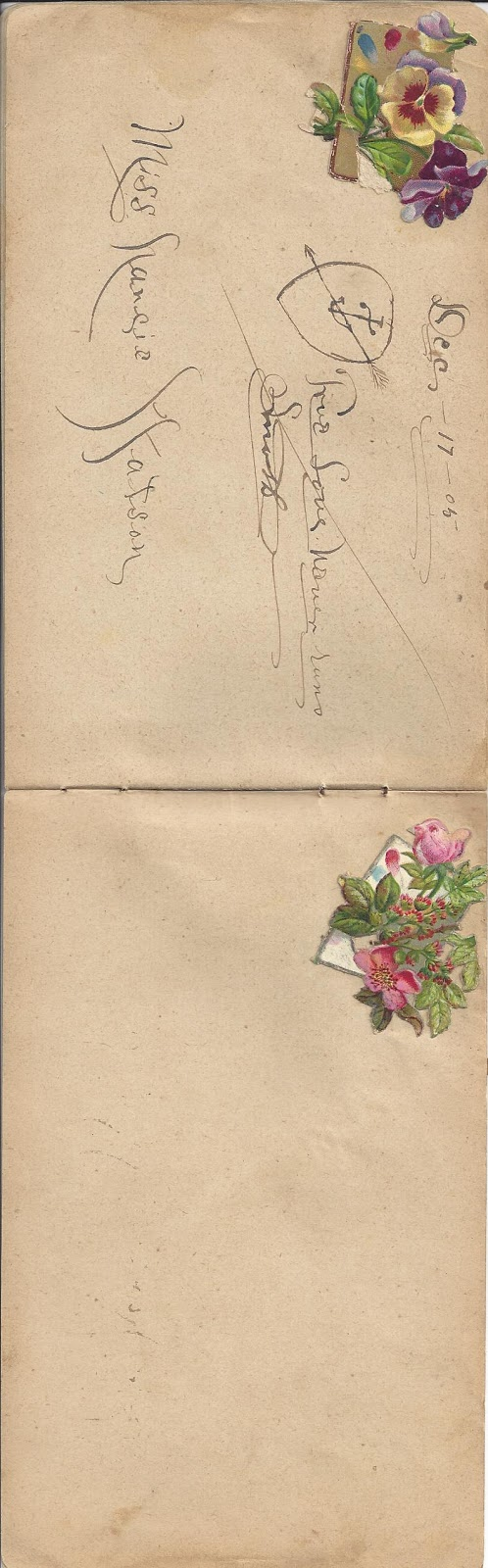 Tea with LaVera: Free Clip Art (An Autograph book from the 1898).