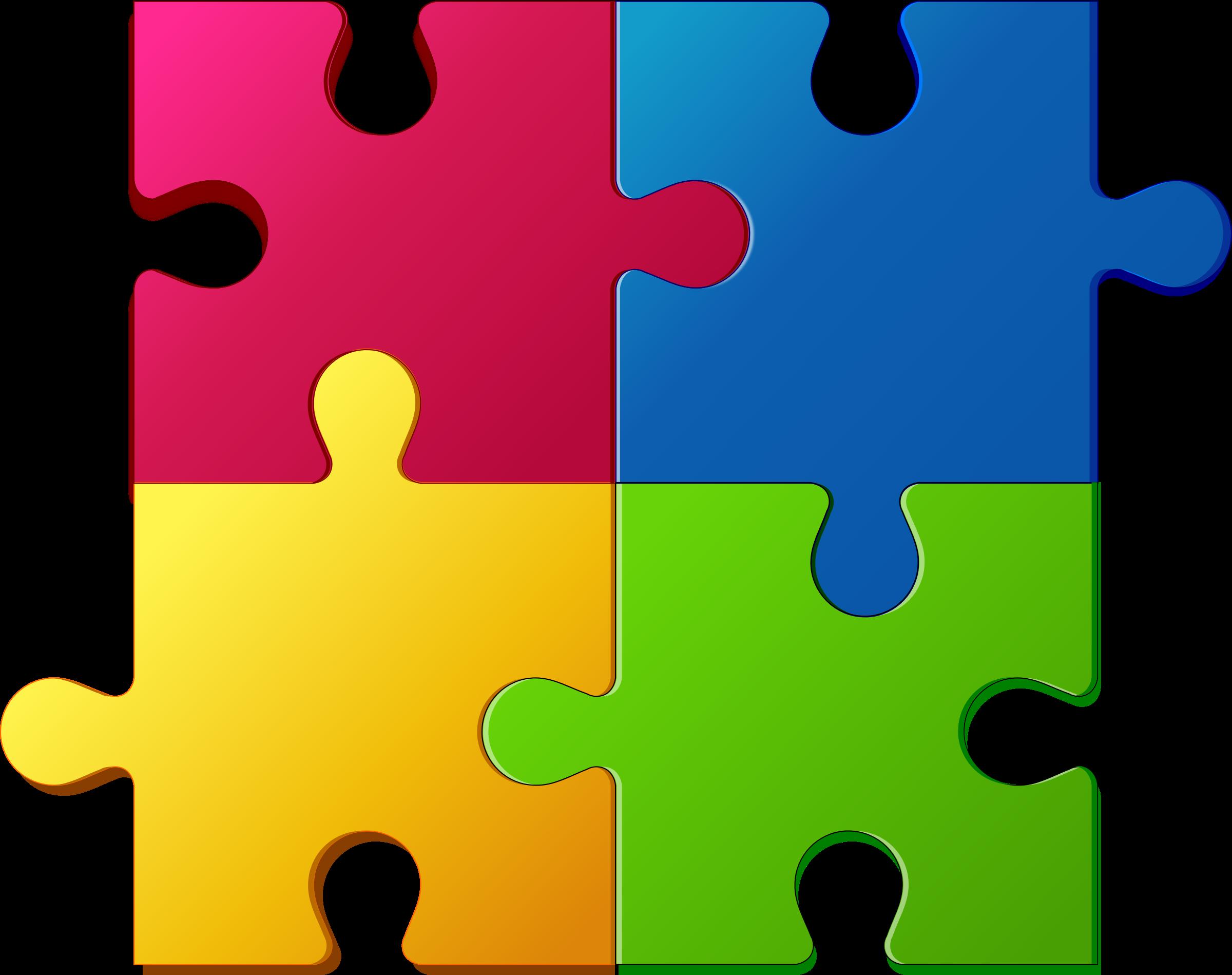 Puzzles Free Clip Art.