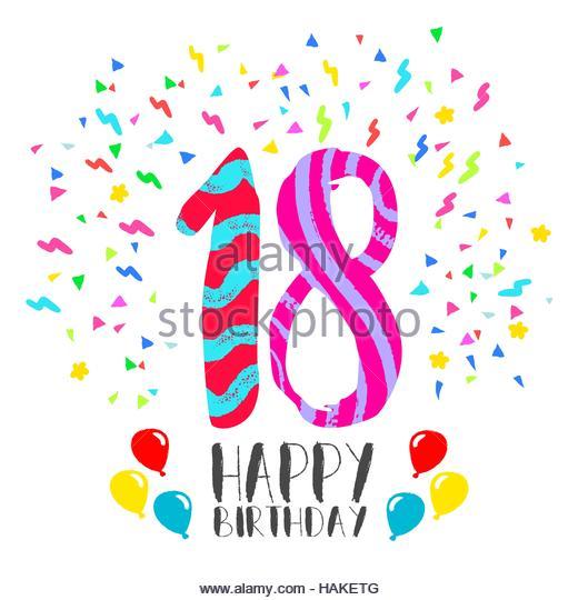 Happy 18 Birthday Pictures.