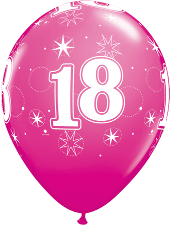 Girly 18Th Birthday Clipart