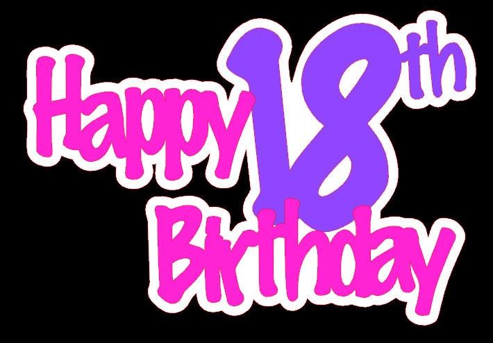 Free Happy 18 Birthday, Download Free Clip Art, Free Clip Art on.