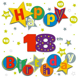 18th birthday clipart » Clipart Station.