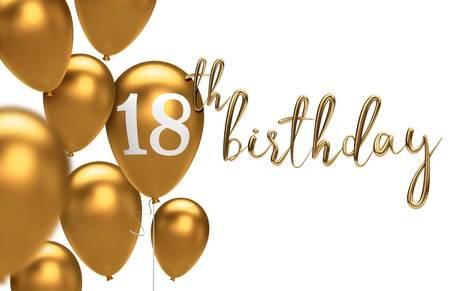Happy 18th Birthday Stock Vector Illustration And Royalty Free Happy.