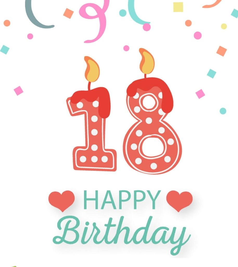 18th birthday clipart 6 » Clipart Station.