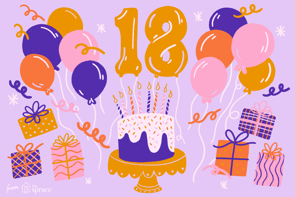12 Cool Ideas for an 18th Birthday Party.