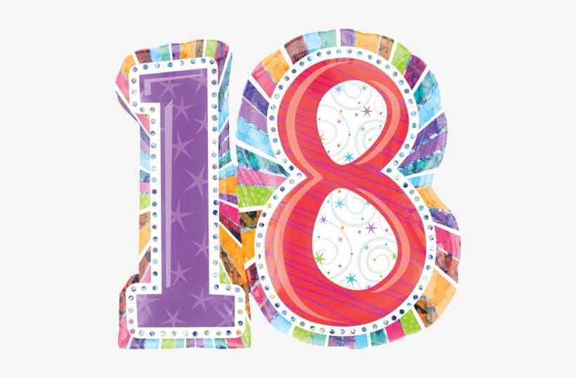 18 Birthday Png.
