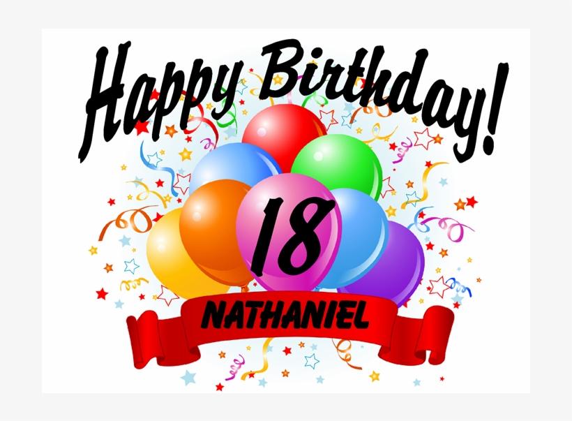 Happy 18th Birthday.