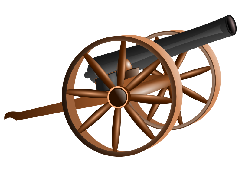 Free Clipart: Cannon.