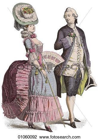 Clip Art of Fashion & Costume.