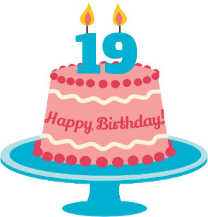 19 Year Old Birthday Cake Gifts on Zazzle NZ.