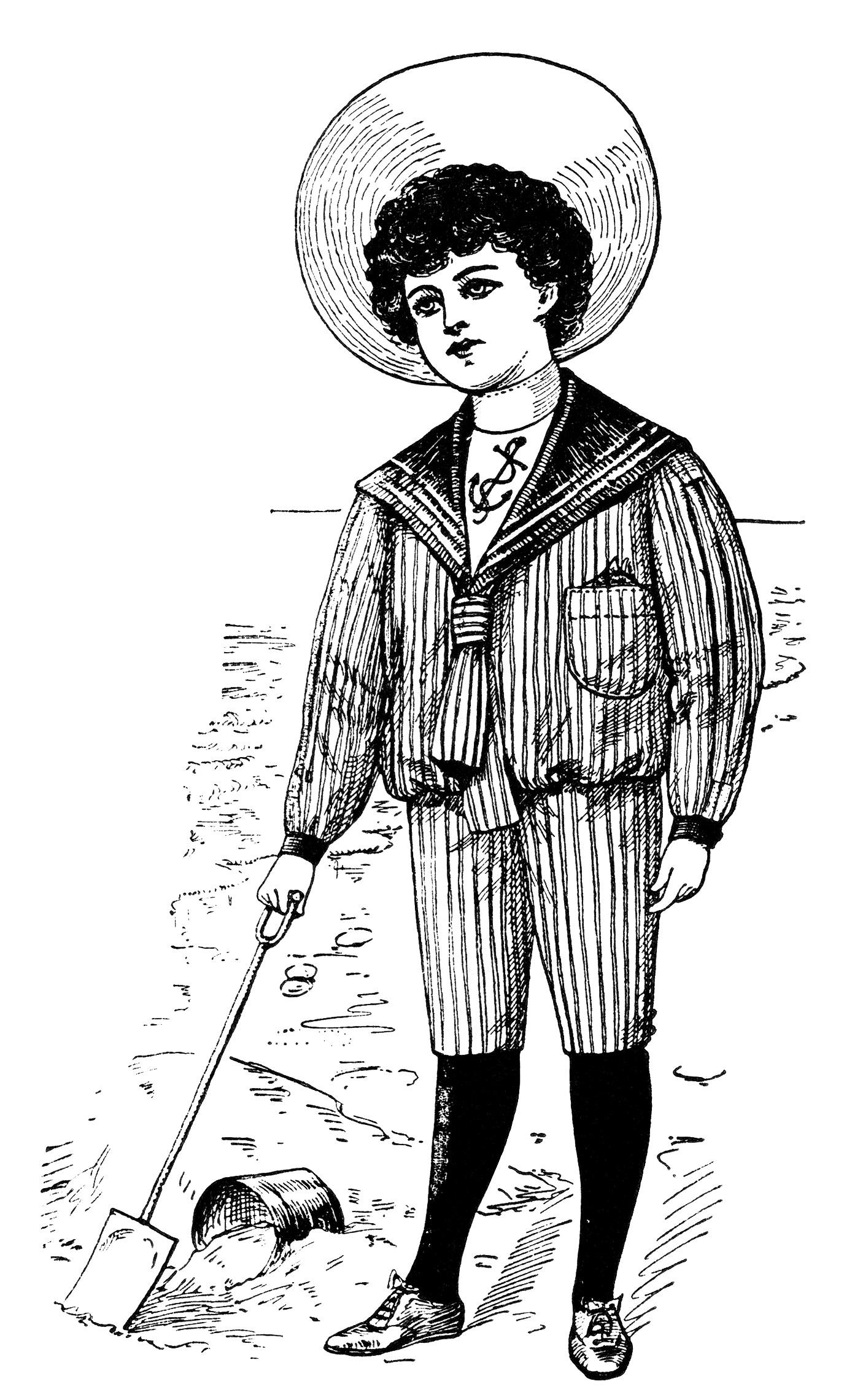 Clip art 1900.