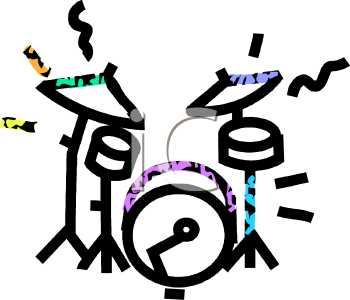 Simple Drum Set.