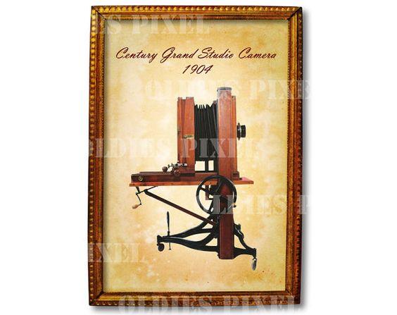 Antique Century Grand Studio Camera 1904 Instant by OldiesPixel.