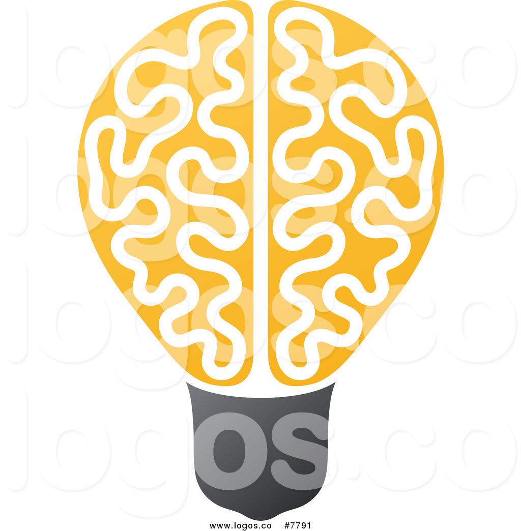 Royalty free brain stock logo designs image #1905.