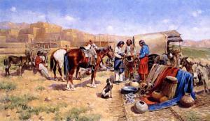 Indian Traders Hauser 1906 Clip Art Download.