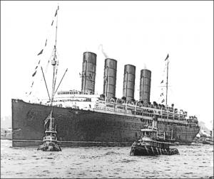 Lusitania 1907 Clip Art Download.