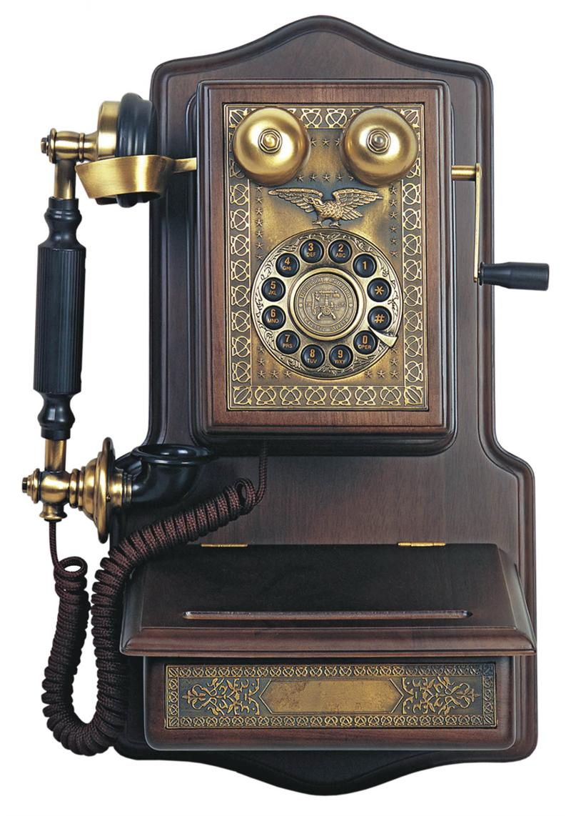 1907 Wooden Wall Telephone Antique Wall Telephones Wooden.