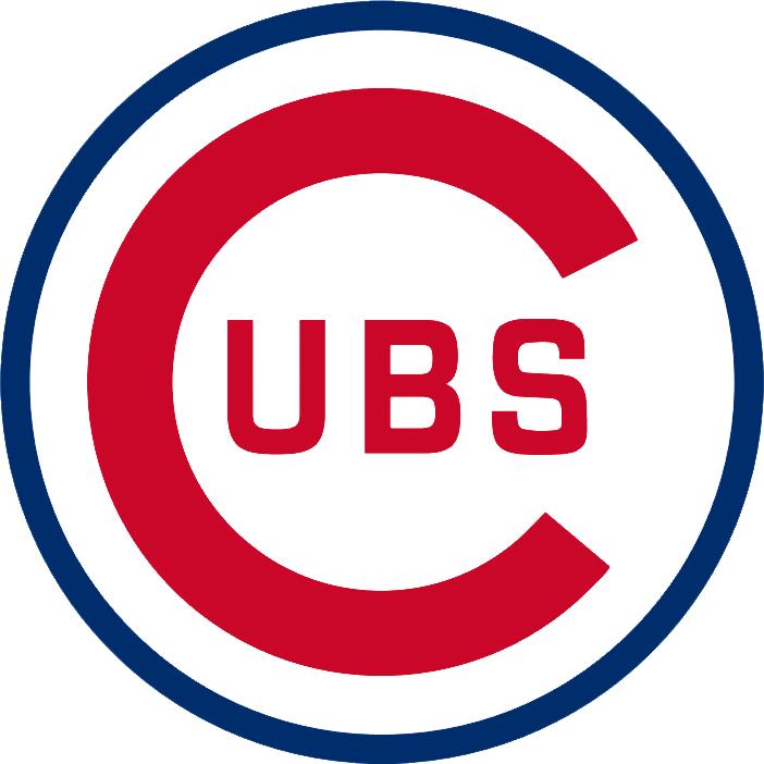 Chicago cubs logo clipart 1908 vector.