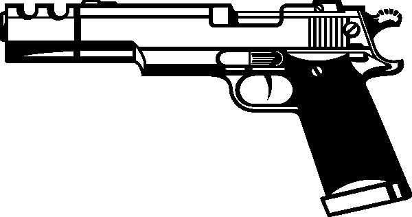 1911 .45 Clipart.