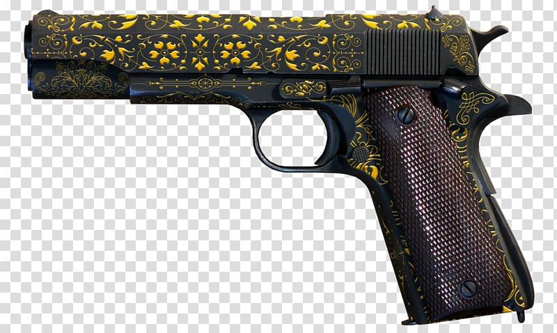 Handgun Semi.
