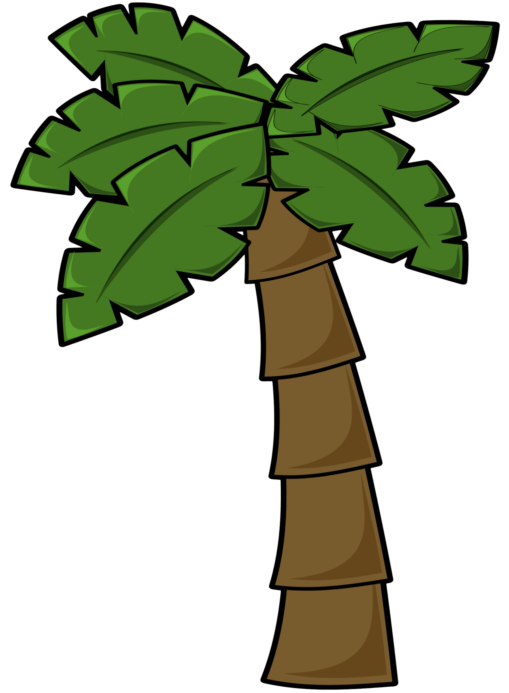 Best Palm Tree Clip Art #1912.