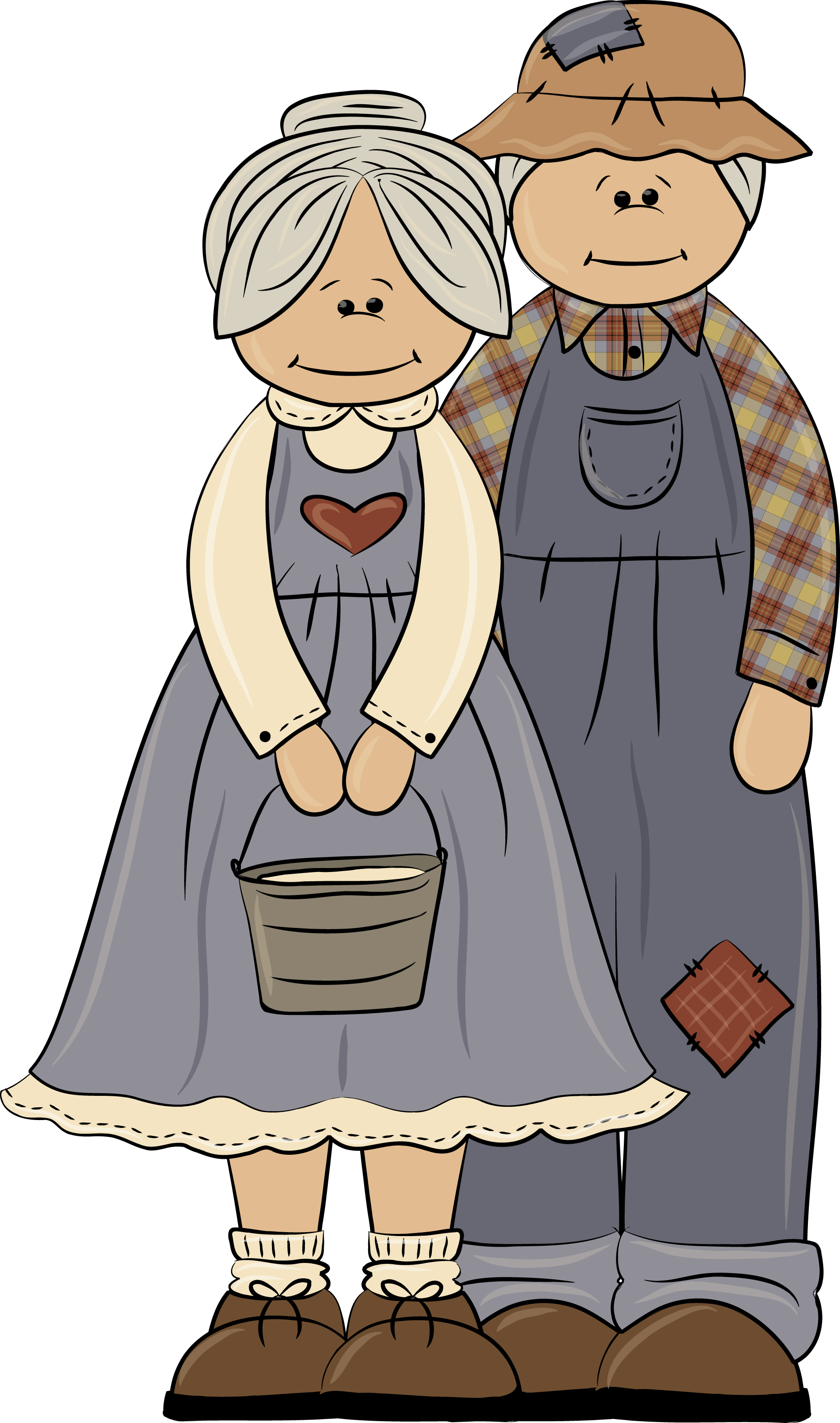 Cool Grandmother Clip Art.