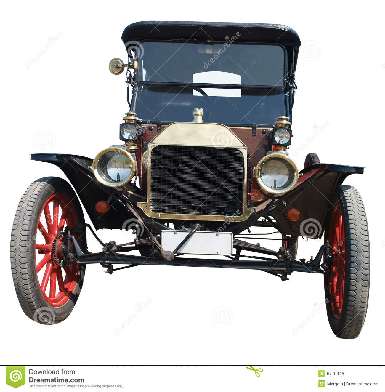 Ford Model A Clipart.
