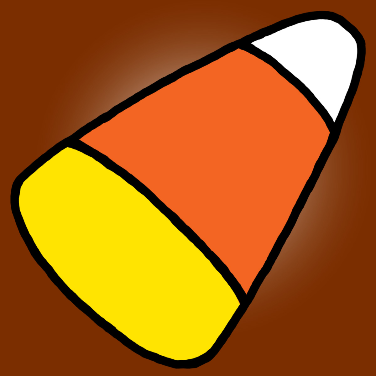 Candy corn coloring sheet clipart 2 wikiclipart.