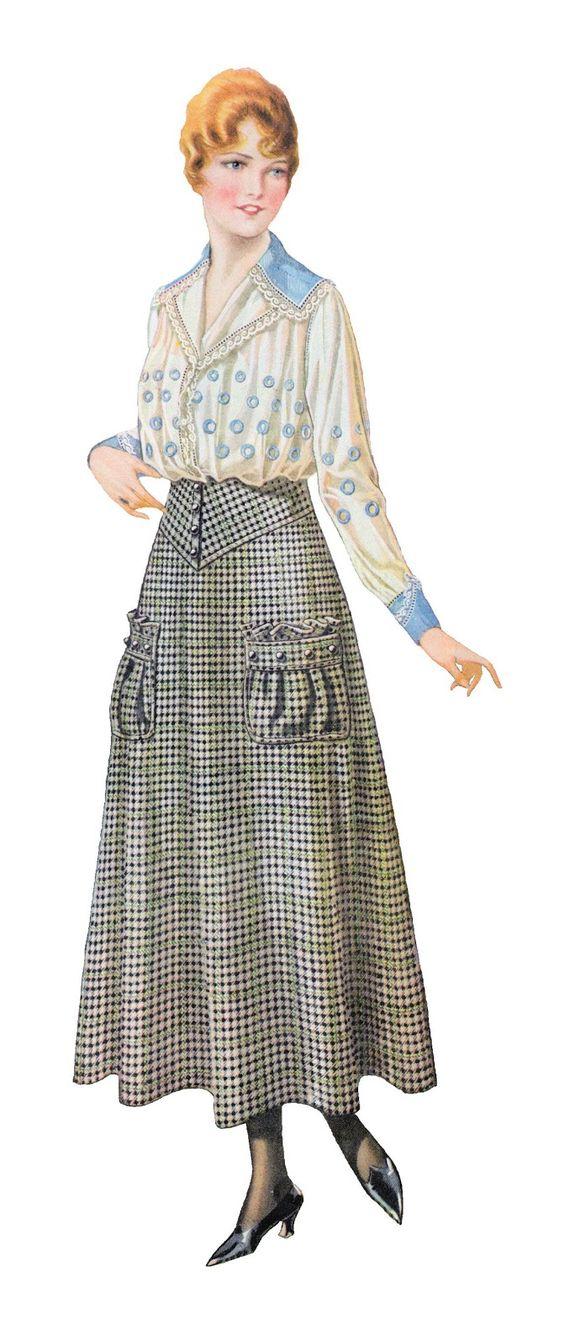 1915 clothes catalog..